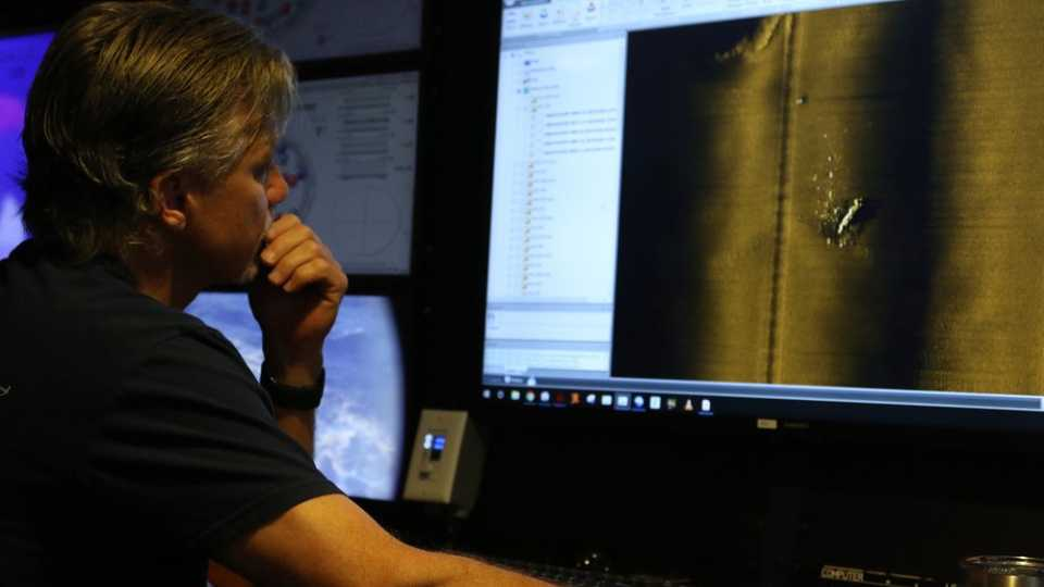 Rob Kraft, director of undersea operations at Vulcan Inc.
