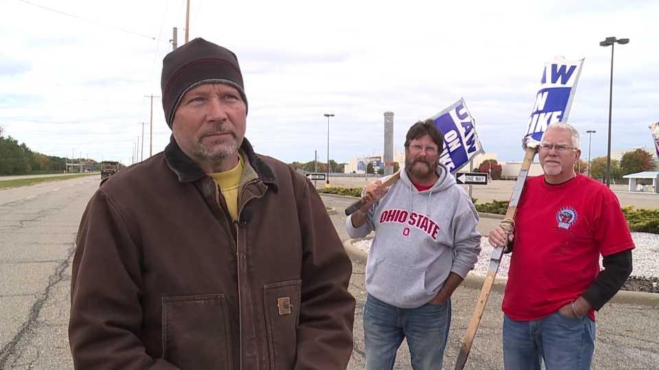 Barry Brown, UAW strike at GM Lordstown