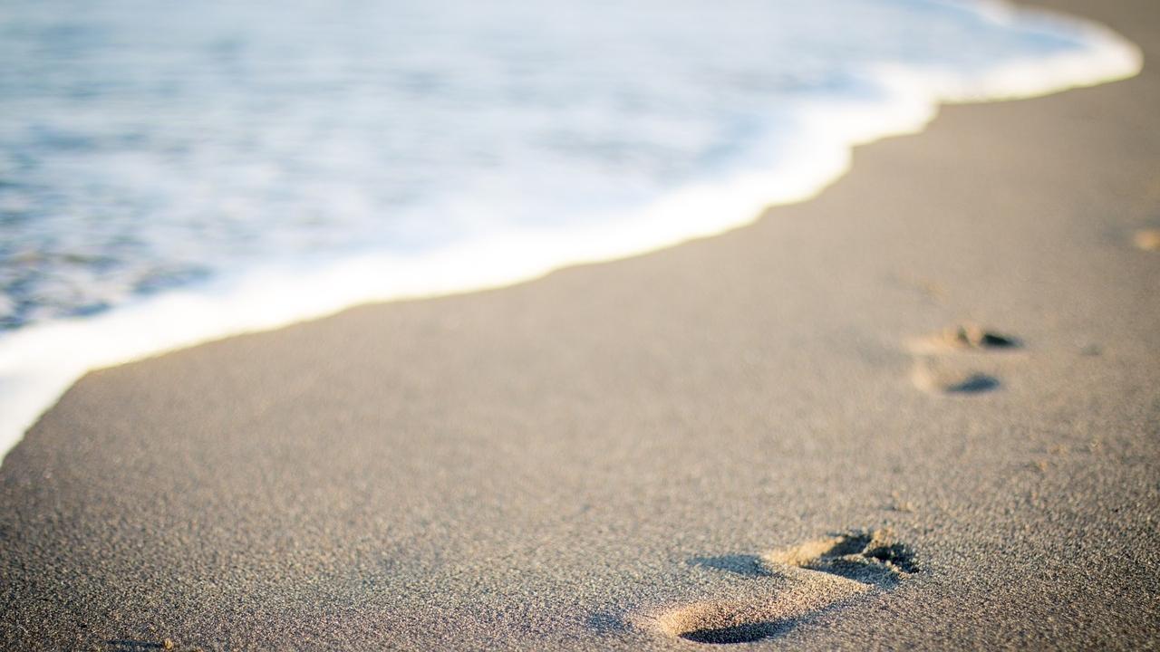 Beach, sand, ocean