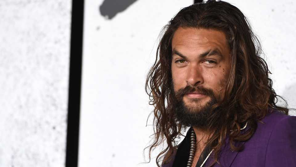 "Jason Momoa arrives at the Los Angeles premiere of ""Joker"" at TCL Chinese Theatre on September 8, 2019."