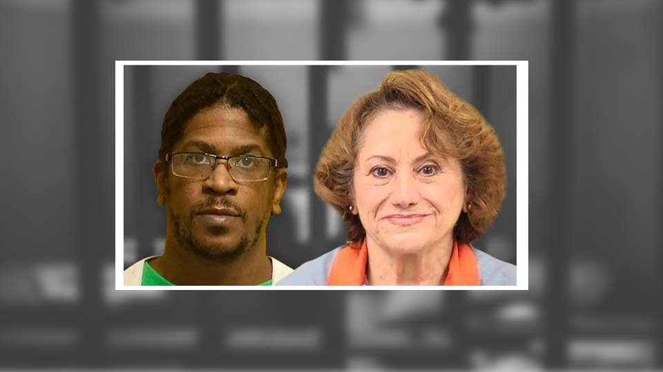 Nathaniel Jackson and Donna Roberts, death row inmates convicted of murdering Roberts' ex-husband.