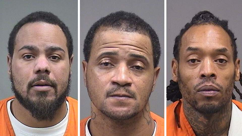 Antwon Pete, Carl Venable, Jr., and Charles Lynch are facing gun and drug charges after searches of two Youngstown homes.