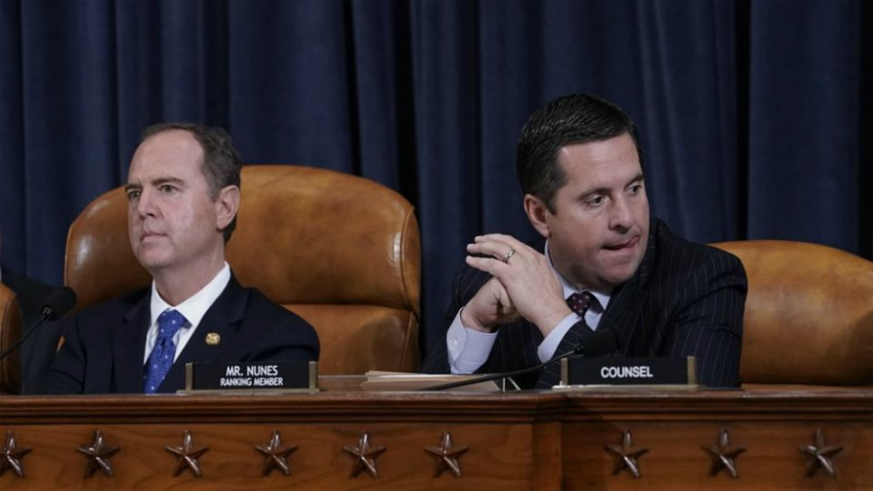 House impeachment investigators will hear on Thursday from two key witnesses who grew alarmed by how President Donald Trump and others in his orbit were conducting foreign policy in Ukraine, capping an intense week in the historic inquiry.