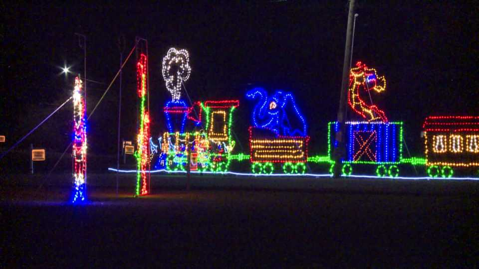 Joy of Christmas Light Show in Columbiana