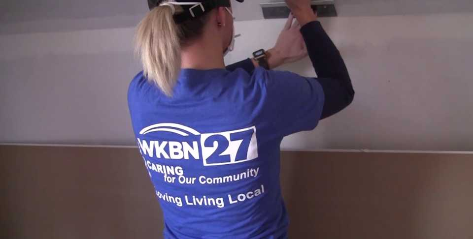 WKBN and Habitat for Humanity volunteers to work on rehab house