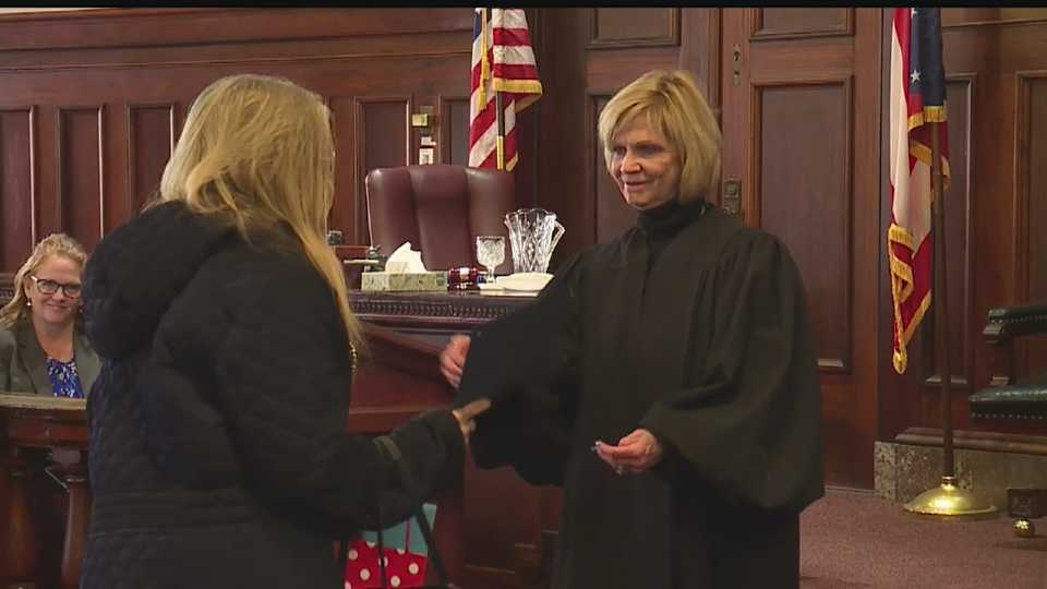 Mahoning County Mental Health Court diversion program graduation