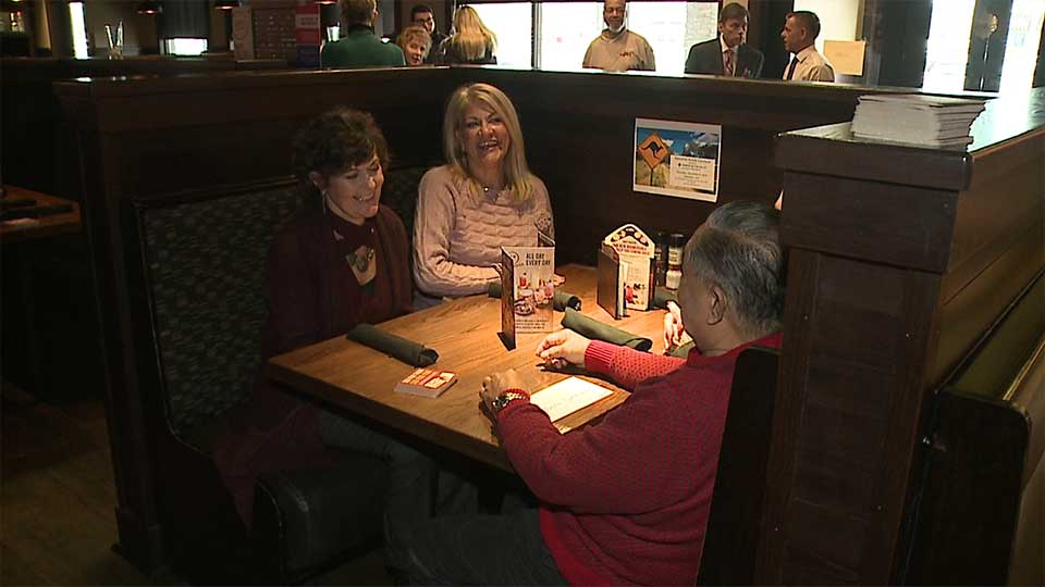 Hospice of the Valley held its 18th annual Awesome Aussie luncheon at Outback Steakhouse in Boardman on Thursday.