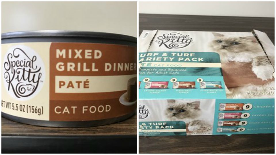 Smuckers recalls some canned cat food.