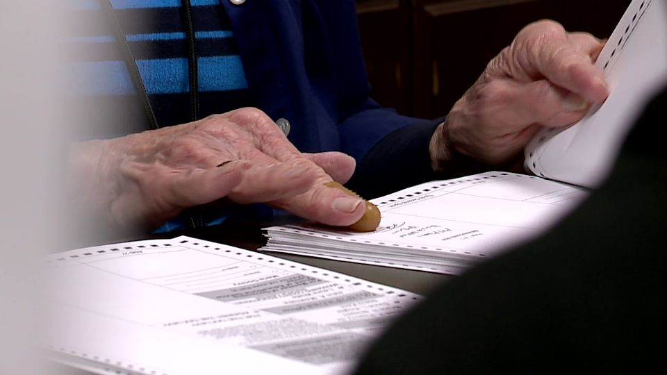 A recount is happening at the Mahoning County Board of Elections