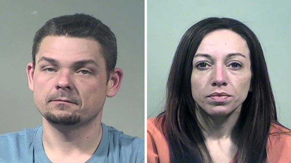 Richard Sheely and Amanda Collins, charged with felonious assault and robbery in Vienna