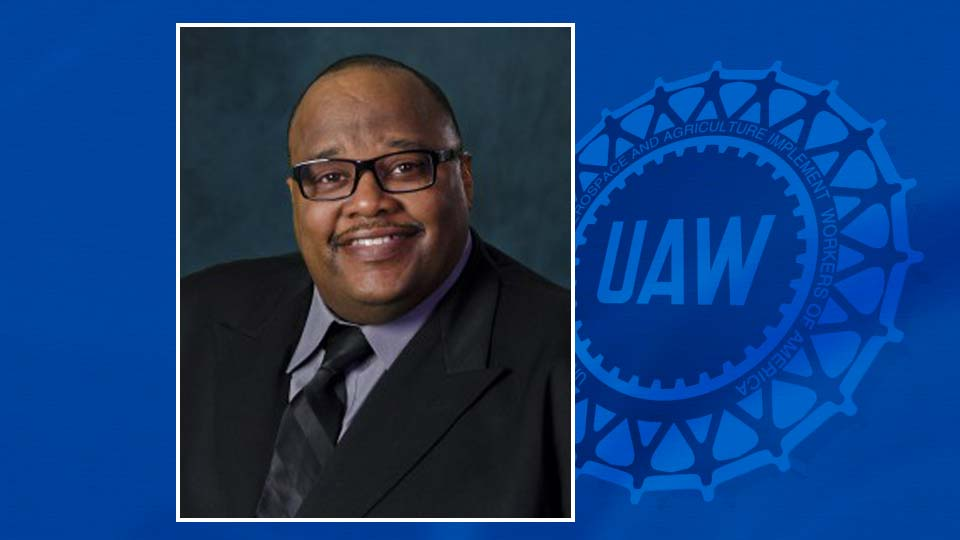 Rory Gamble is the new acting UAW International president.