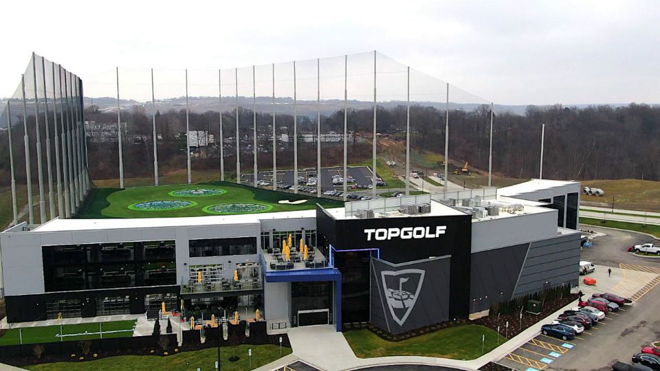 Top Golf opens in Independence, Ohio.