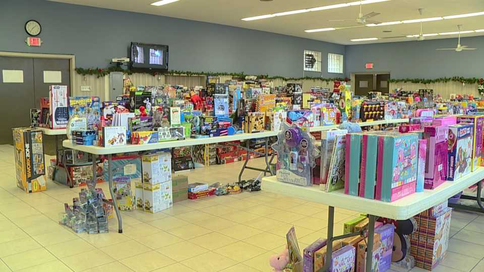 Warren Family Mission toy drive