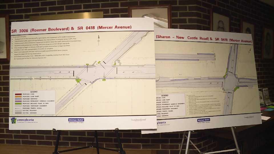 Farrell road project plans