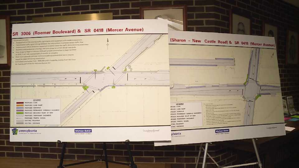 Farrell road project plans