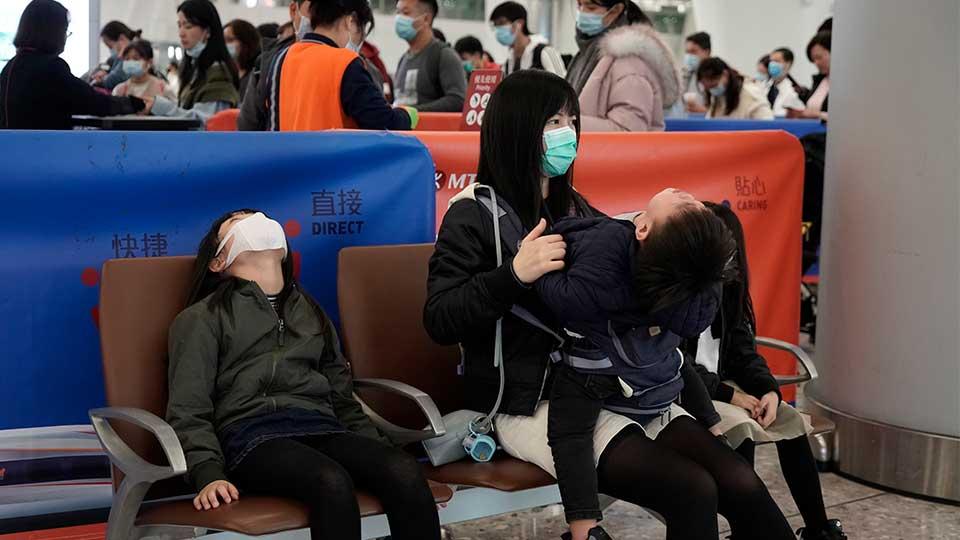 Hong Kong, China outbreak