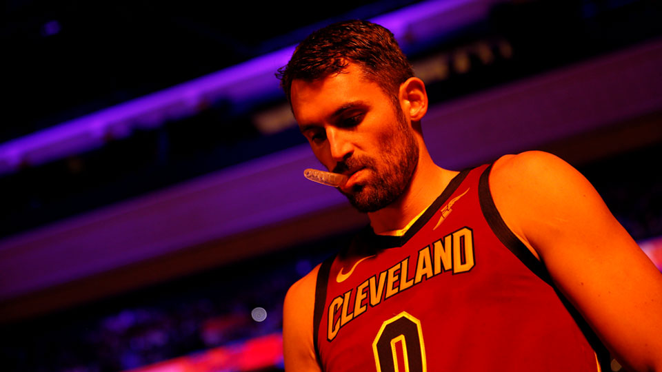 Cleveland Cavaliers' Kevin Love