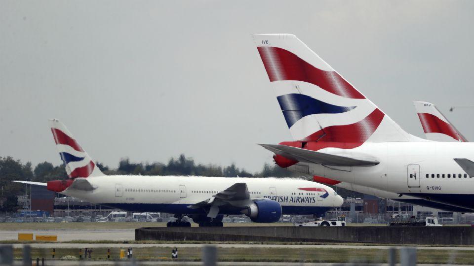 British Airways suspends flights to Mainland China.