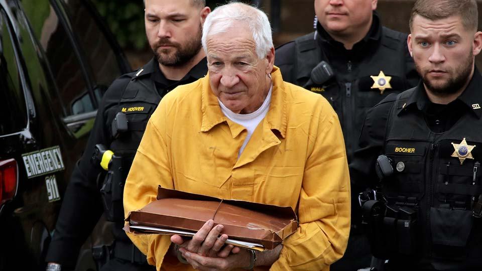 former Penn State University assistant football coach Jerry Sandusky