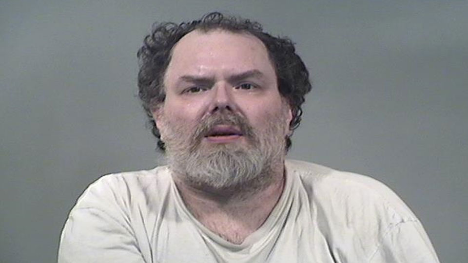 William Slanina, charged with three counts of aggravated menacing in Brookfield.