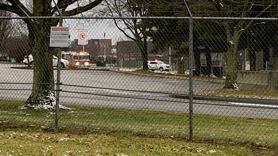 Some workers have been evacuated from the Youngstown Air Reserve Station in Vienna due to a gas leak.