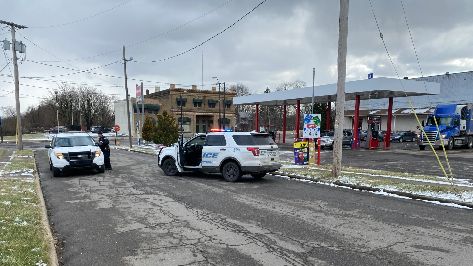 Youngstown police are looking for a victim after several shots were fired at Market and Cleveland streets.
