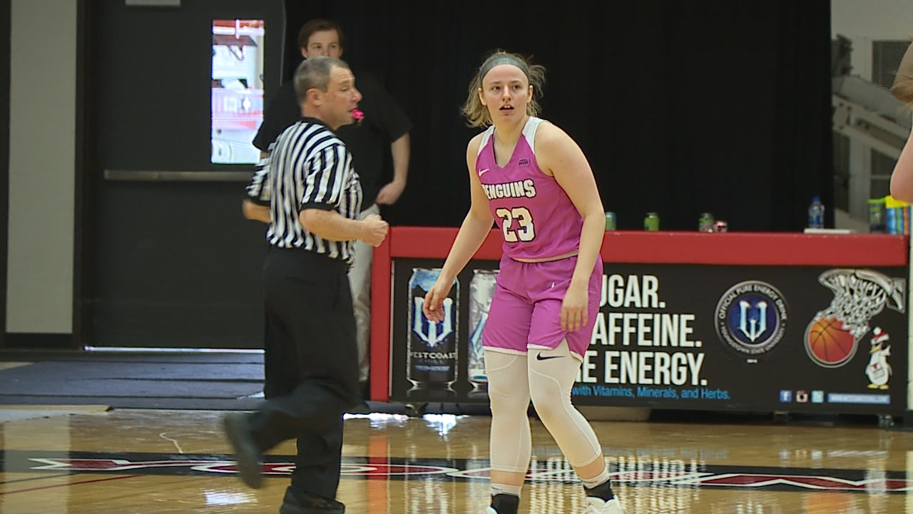 Maddie Schires now has 57 three-pointers and counting this season, the most ever by a YSU freshman.