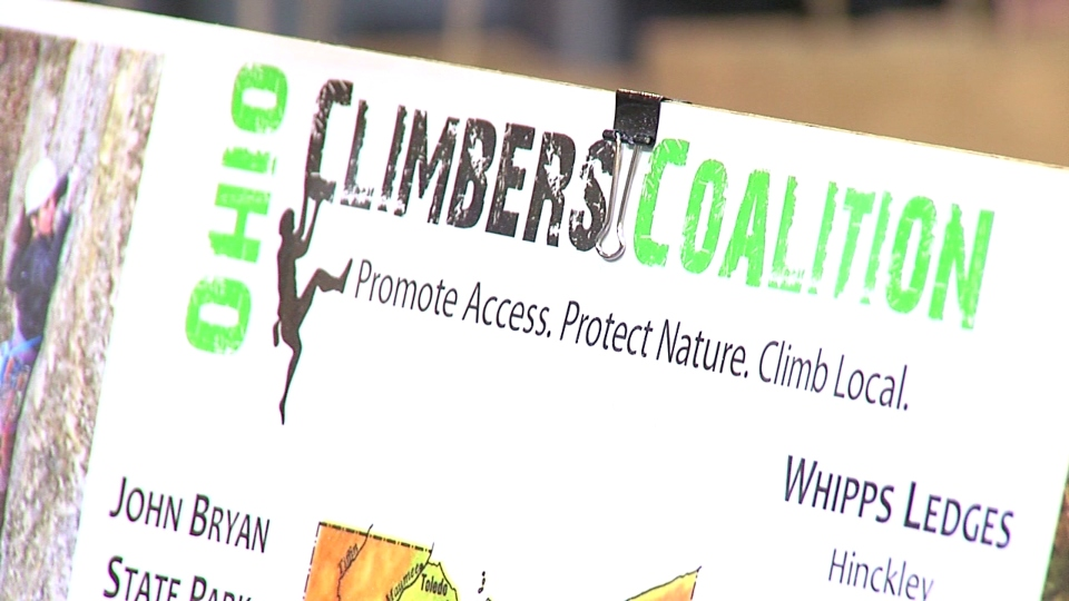 Climbers Coalition Ascend Youngstown boulder climbing