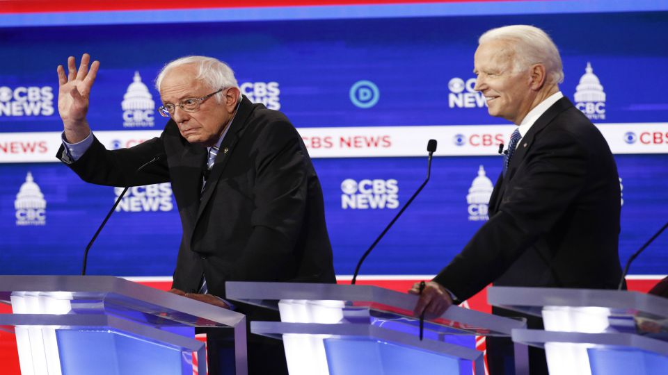 Democrats unleashed a roaring assault against Bernie Sanders and seized on Mike Bloomberg's past with women in the workplace during a contentious debate Tuesday night