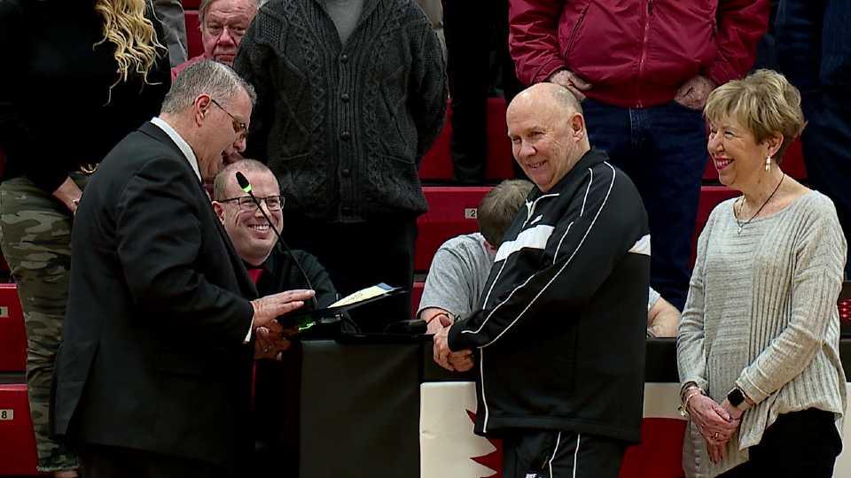 Former Canfield basketball coach John Cullen