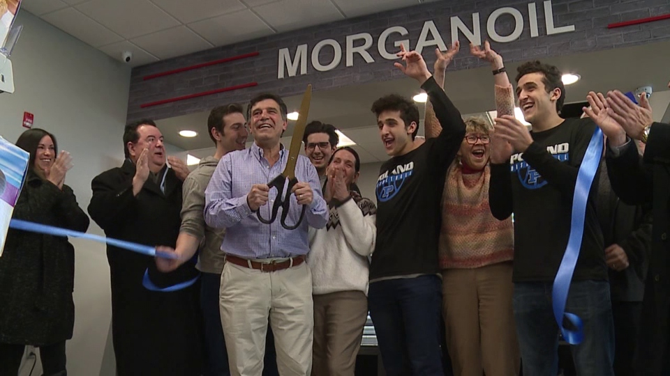Morgan Oil opening in Lowellville.