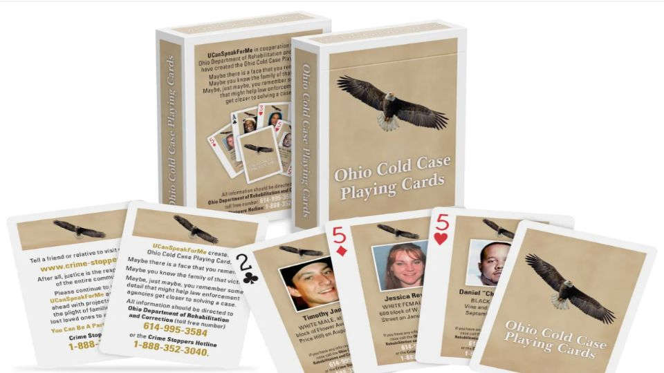 Ohio cold case playing cards