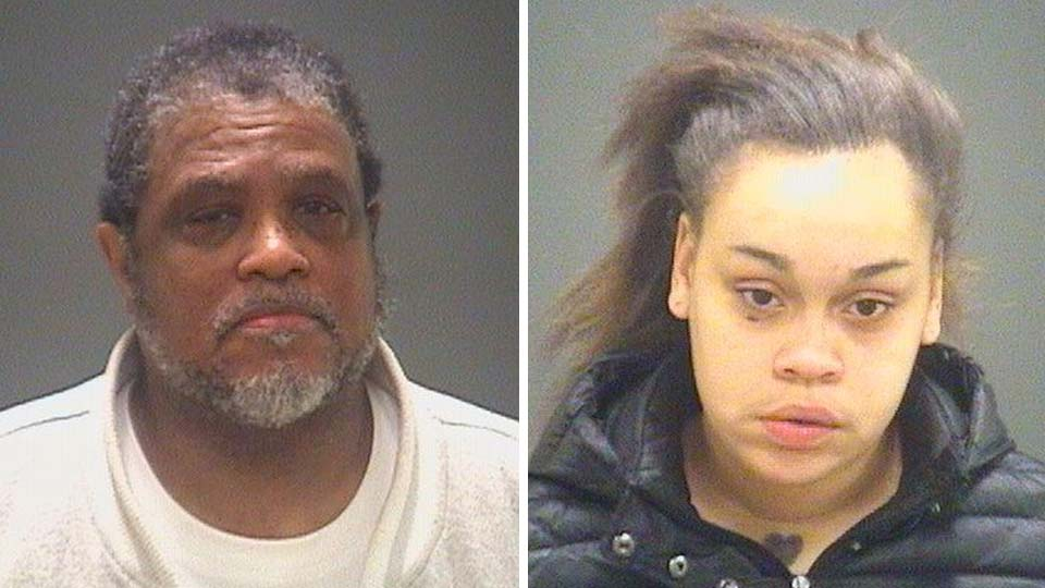 Pastor Randolph Brown and Joyce Richmond, indicted on charges of compelling prostitution and human trafficking in Cleveland, Ohio.