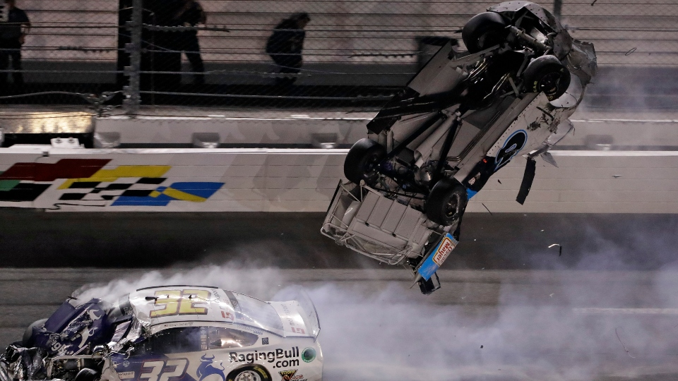 Ryan Newman Daytona 500 crash