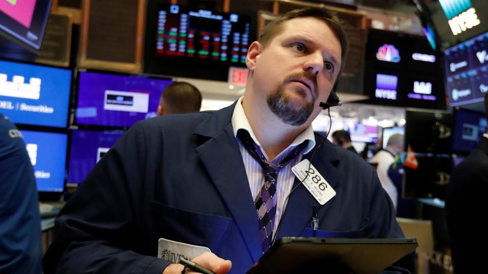 Weeklong stock market rout deepens as virus worries spread.