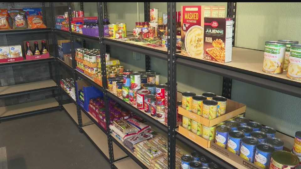 The Lord's Blessing Food Pantry in Washingtonville, Ohio