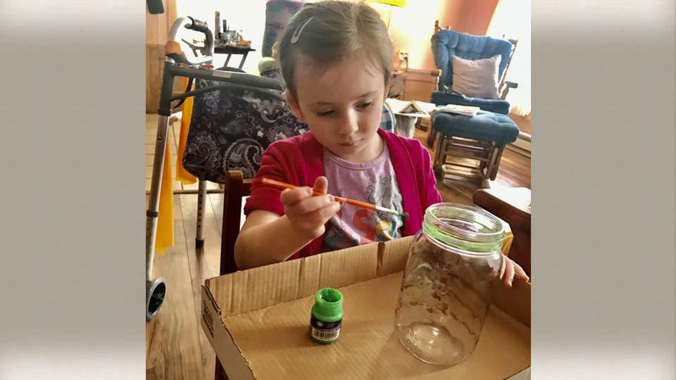Amelia, age 5, Hartford, Ohio