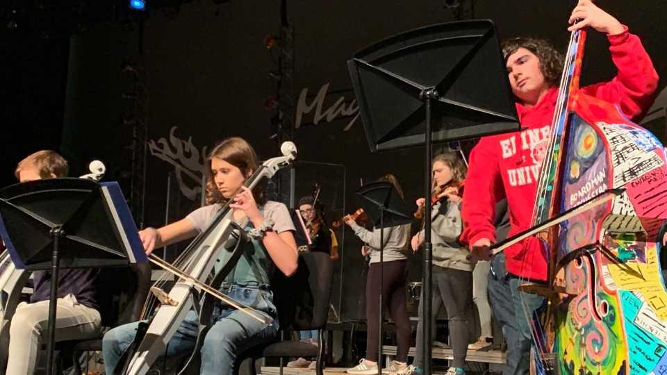 Boardman Mayhem Rock Orchestra 2019.