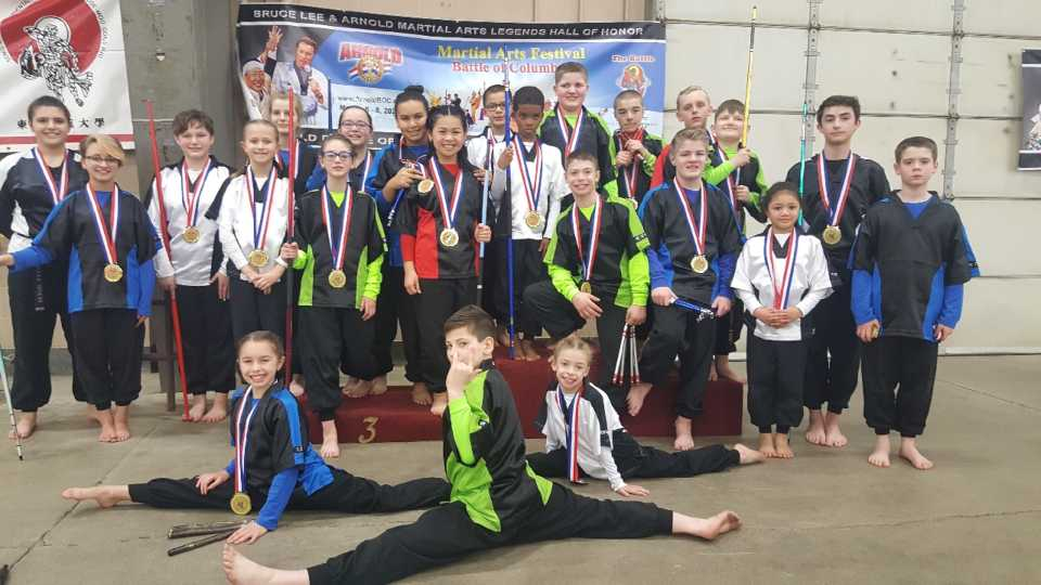 Freestyle Karate wins gold at Arnold Classic