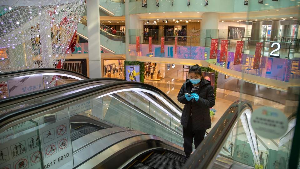 Coronavirus outbreak, malls impact.