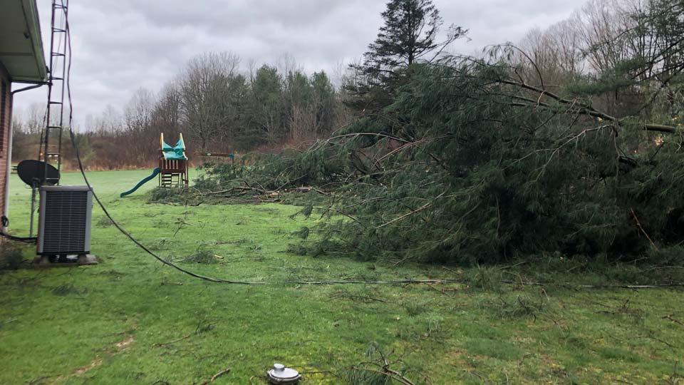 Leetonia storm damage