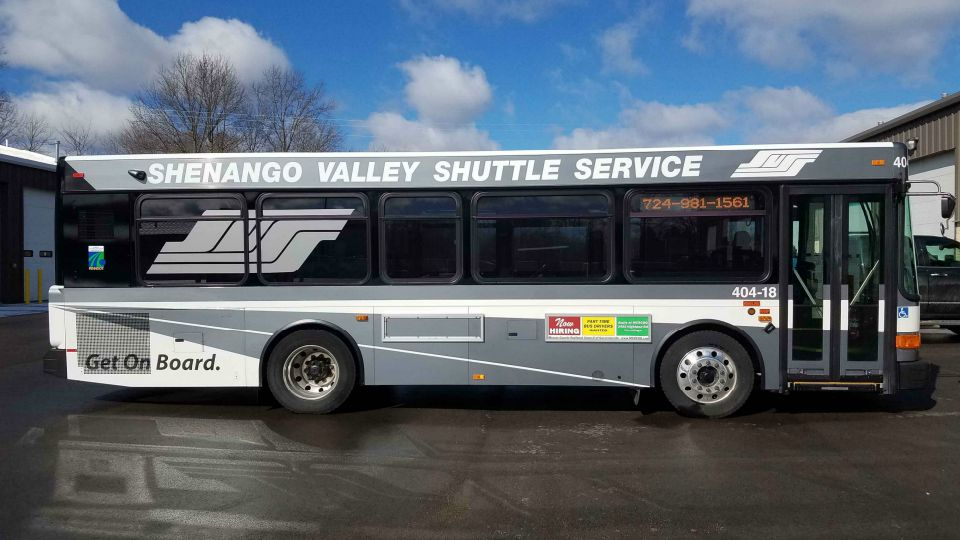The Shenango Valley Shuttle Service is suspending operations in light of the coronavirus outbreak.