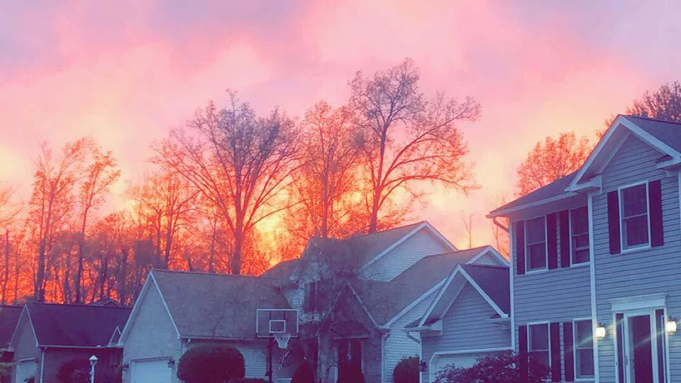 Hubbard sunset
