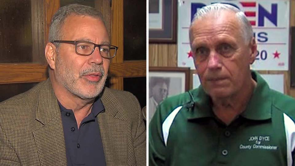 John Dyce and Roy Paparodis are running for Columbiana County commissioner.