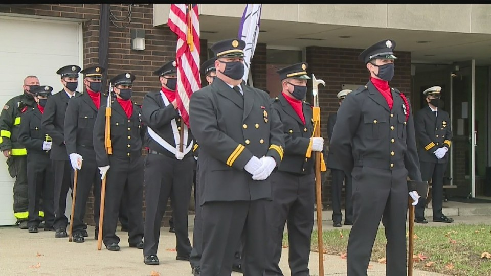 Warren firefighter Don Beauchene funeral