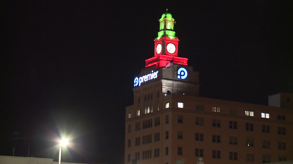 Premier Bank tower in Youngstown