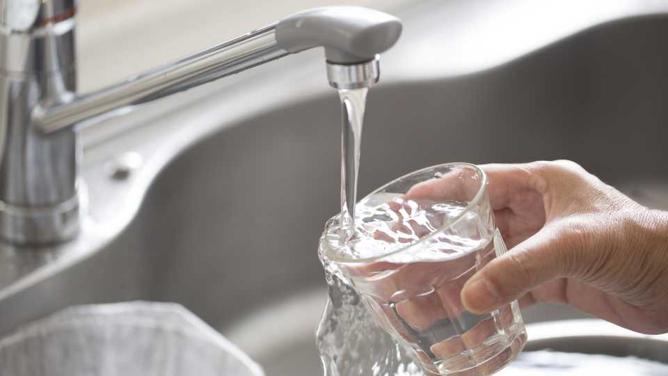 Drinking water faucet