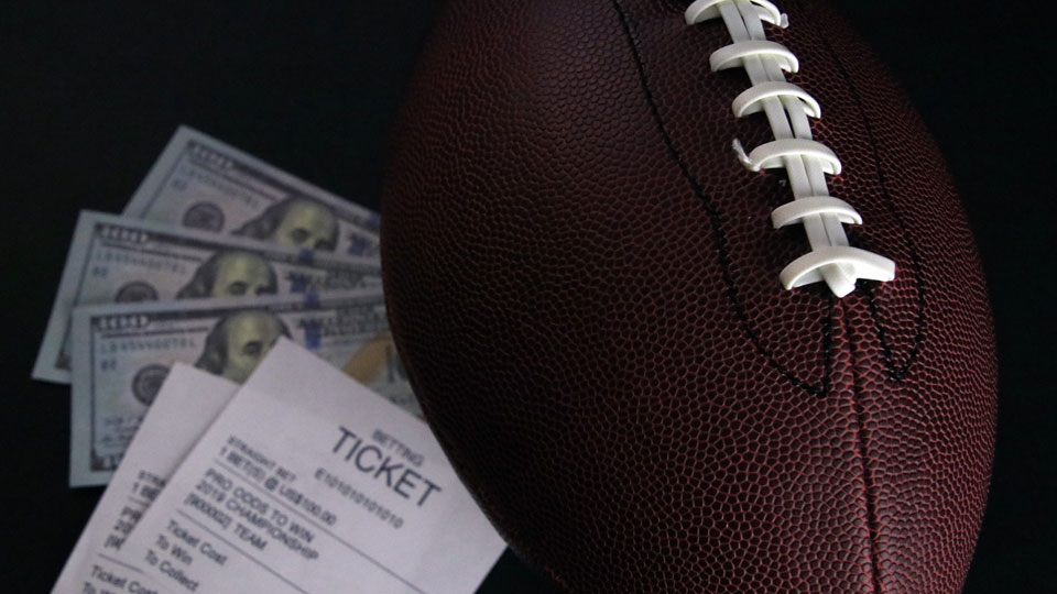 Legal sports betting, gambling