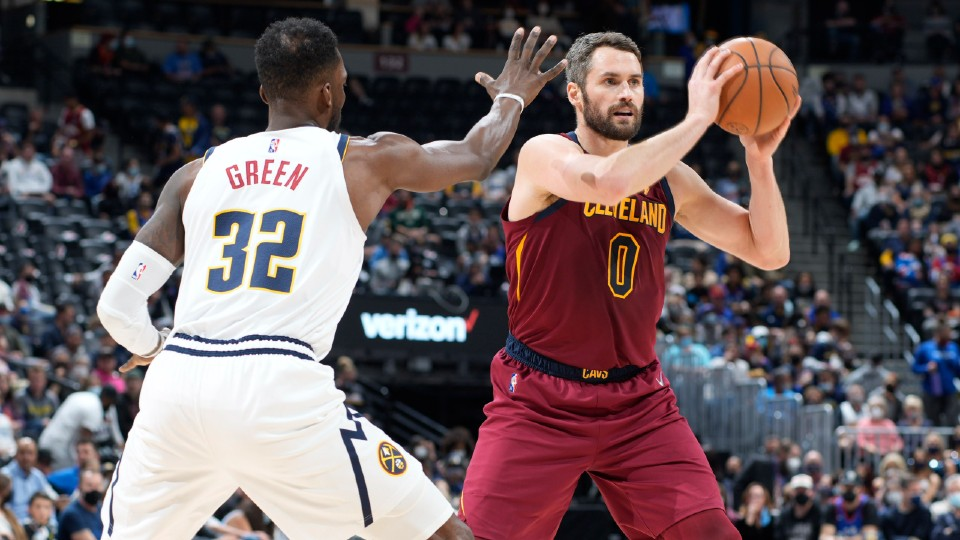 Cavaliers and Nuggets basketball