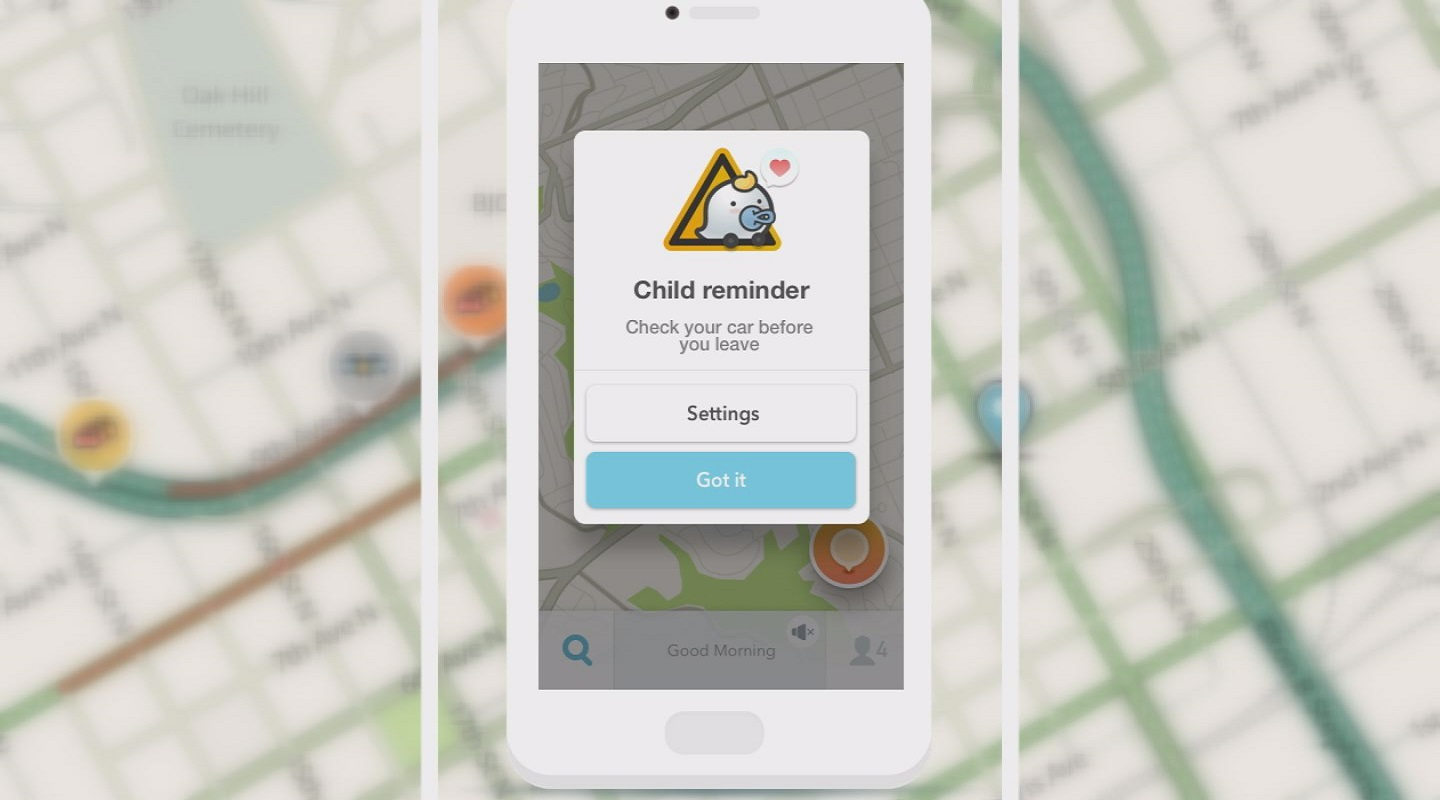 Waze adds feature to prevent hot car deaths